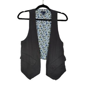 American Eagle Lyocell Shirt Layering Vest XS/S